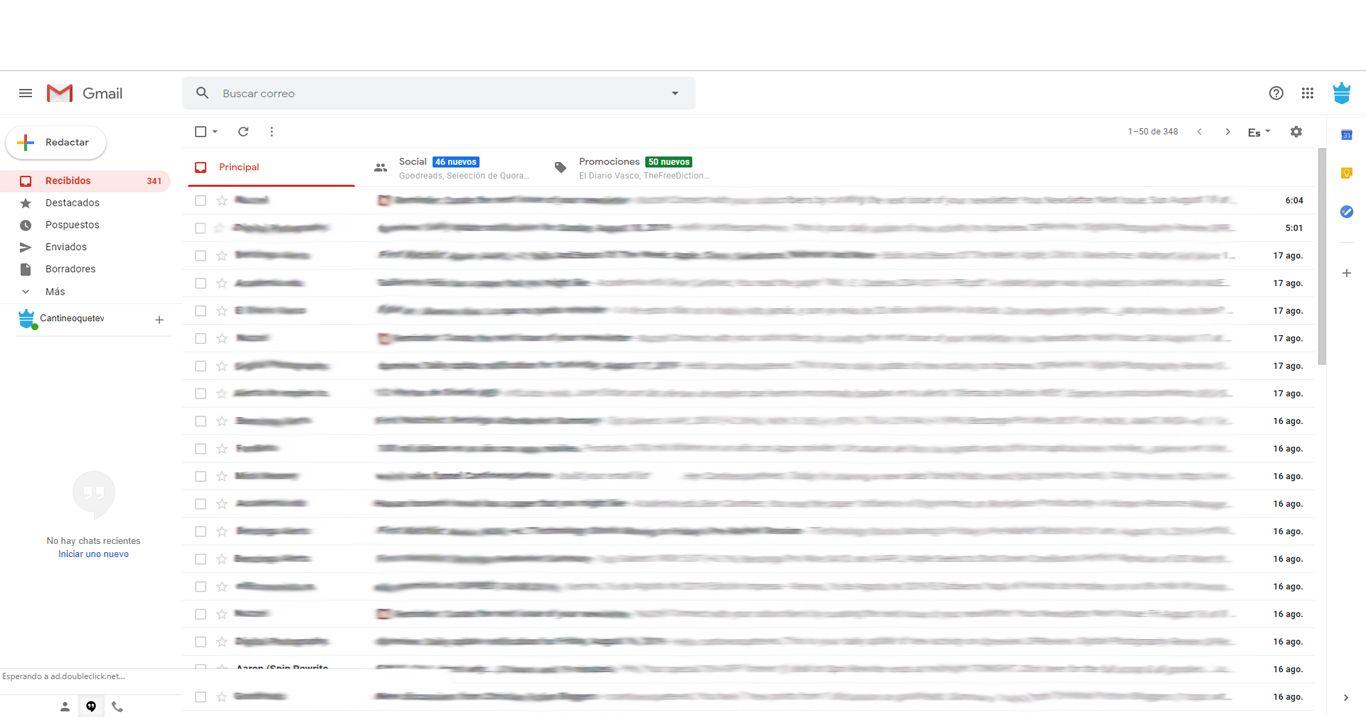 bandeja de entrada gmail