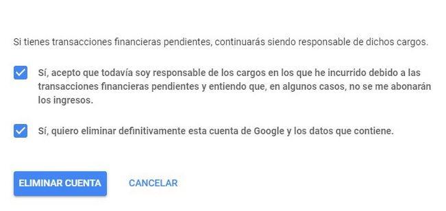 check google cuenta