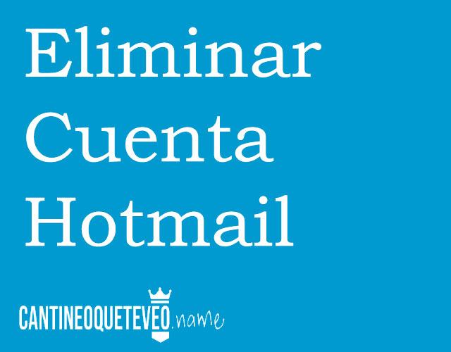 eliminar-cuenta-hotmail