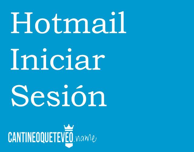 hotmail-iniciar-sesion