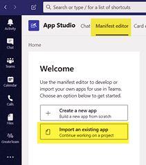 4abrir editor app studio